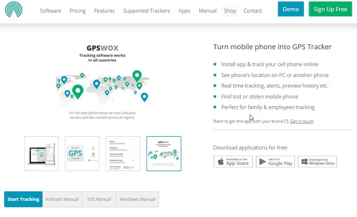 Cell-Phone-Tracker-GPSWOX