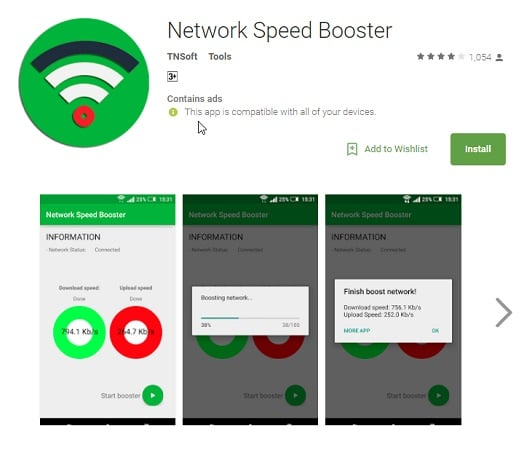 Network Speed Booster