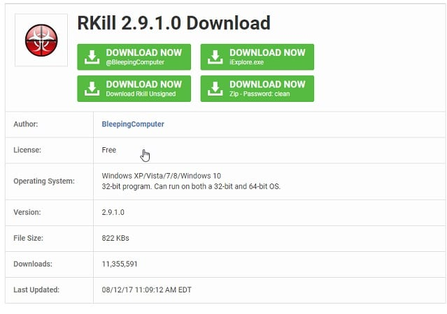 RKill Download