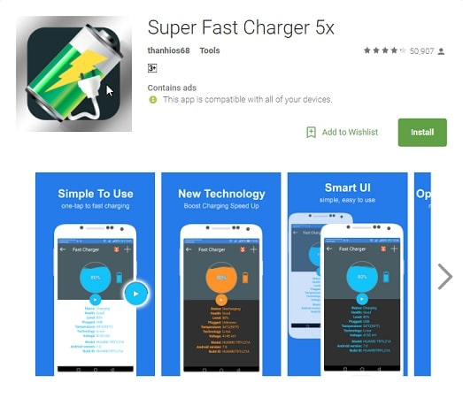 Super Fast Charger 5x