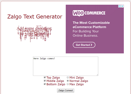8 Best Free Zalgo Text Generator Tools {2018 Updated