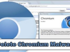 Remove Chromium Virus