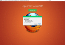 Remove Firefox Update Virus