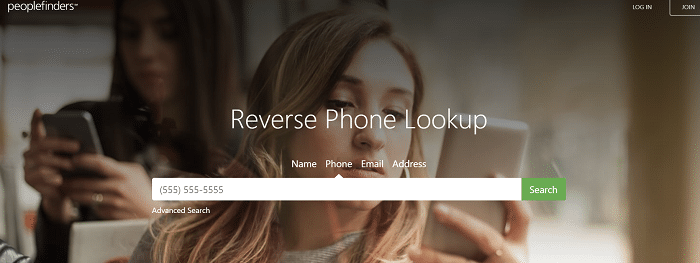 PeopleFinders Reverse Phone Lookup