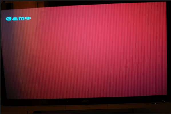 Screen Is Red