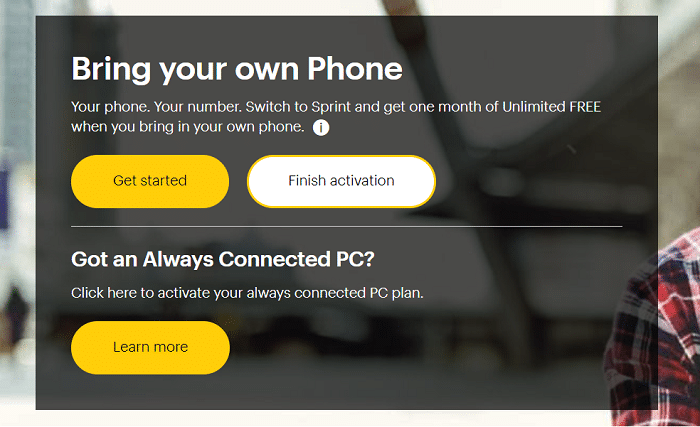 Sprint.com ESN Check