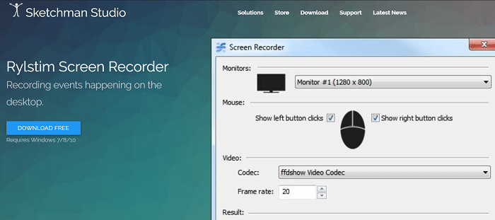 Rylstim Screen Recorder