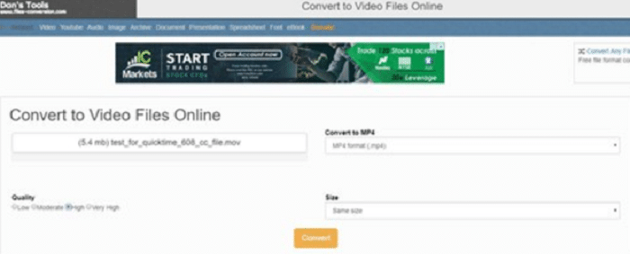 files-conversion vimeo to mp4