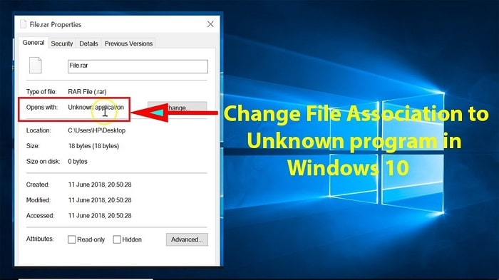 Removing Unknown Programs windows