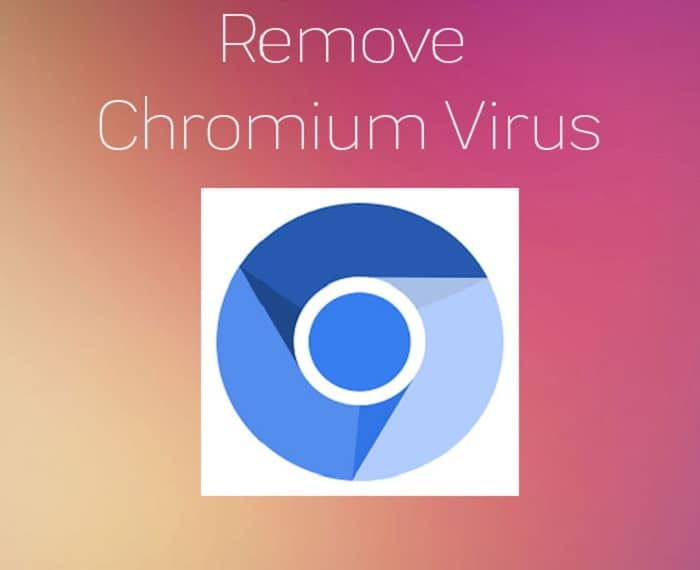 Chromium virus removal