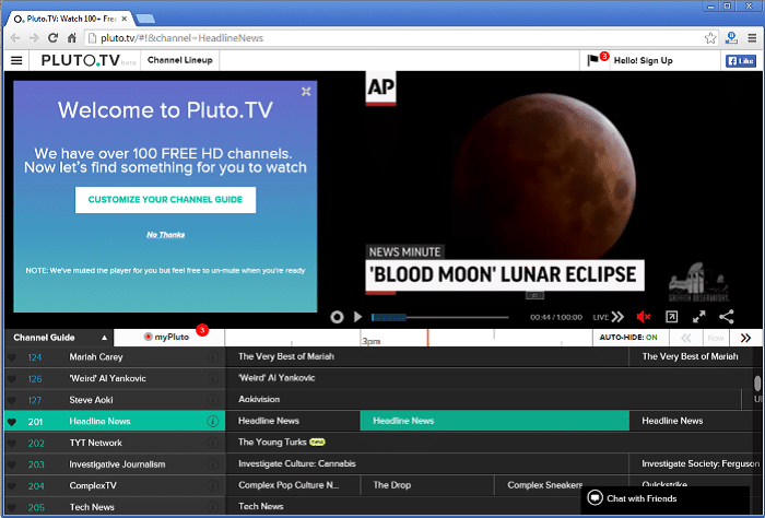 Uninstall Pluto TV