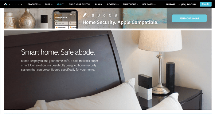 Abode Connected Home Security