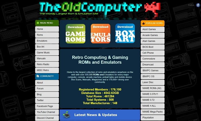 the old computer for ps2 rom