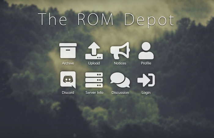 the rom depot for ps2 rom