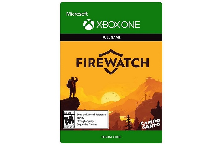 firewatch- xbox one crime solving games