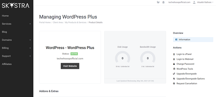 WordPress Plus Dashboard