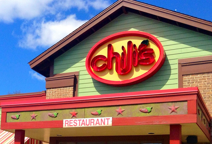 chili's company food delivery