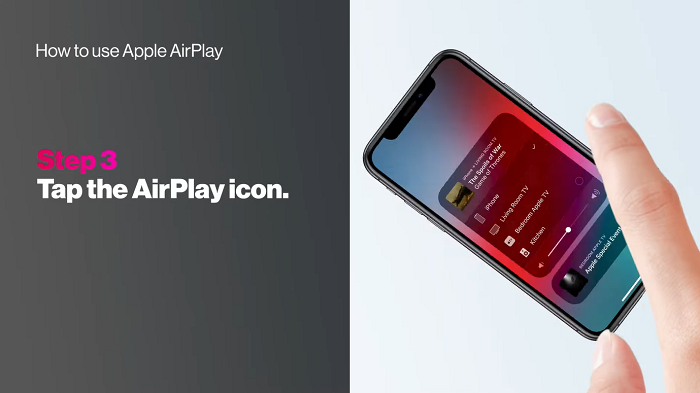 Playing HBO Go with Airplay 2 Application