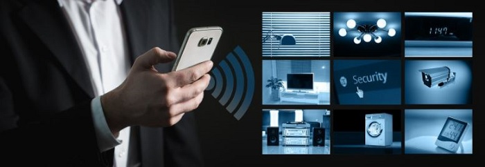 setting up a smart security