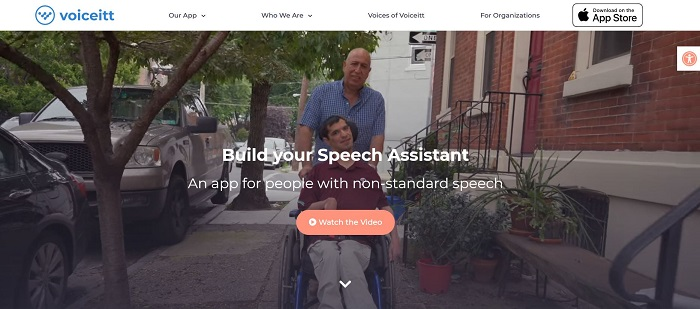 Voiceitt- apps for people with disabilities