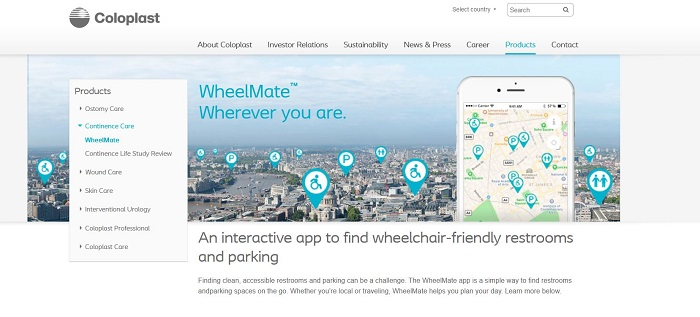 Wheelmate- apps for people with disabilities