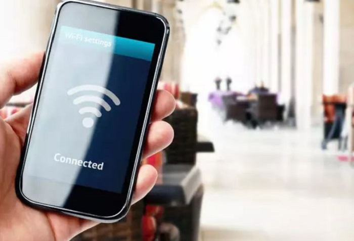 connect your android mobile with the same wifi network