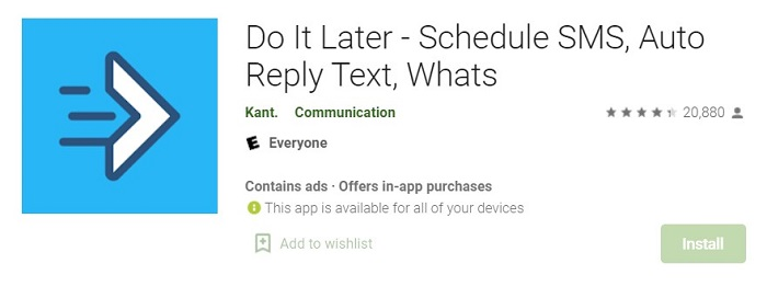 do it later app