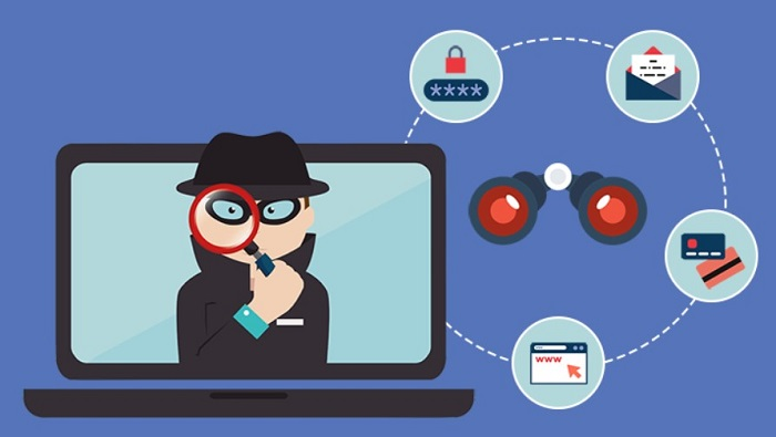 locate spyware on android
